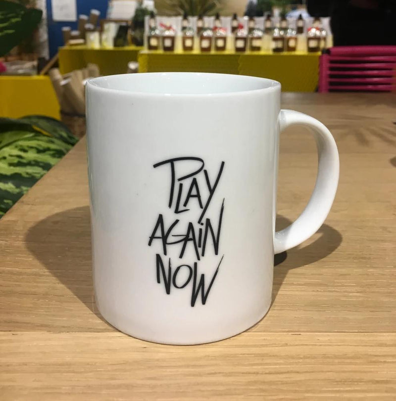 "Mug ""Play again now"""