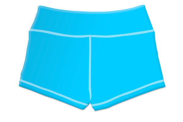 "Summer ""Hurricane Blue"" Women's Highlighter Shorts"