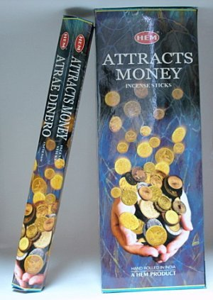 Hem- Attracts Money (Fortune) Incense Sticks - The Regal Phoenix