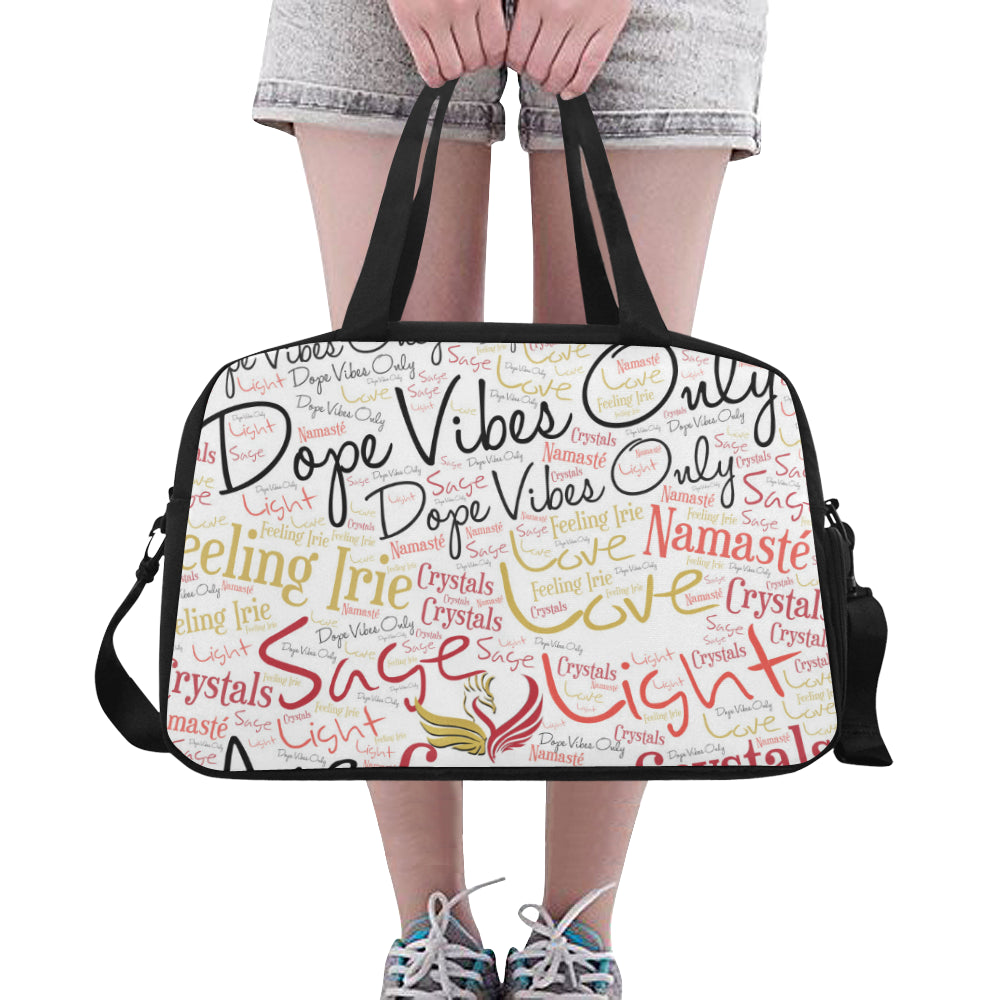 Dope Vibes Tote/Cross Body Travel Bag