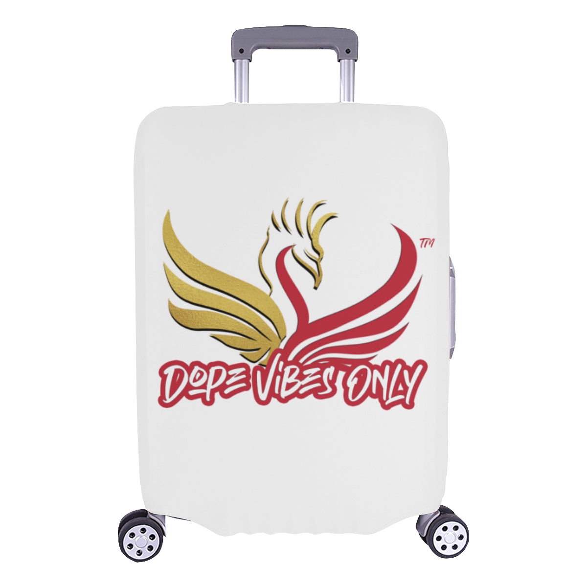 Dope Vibes Only Luggage Cover