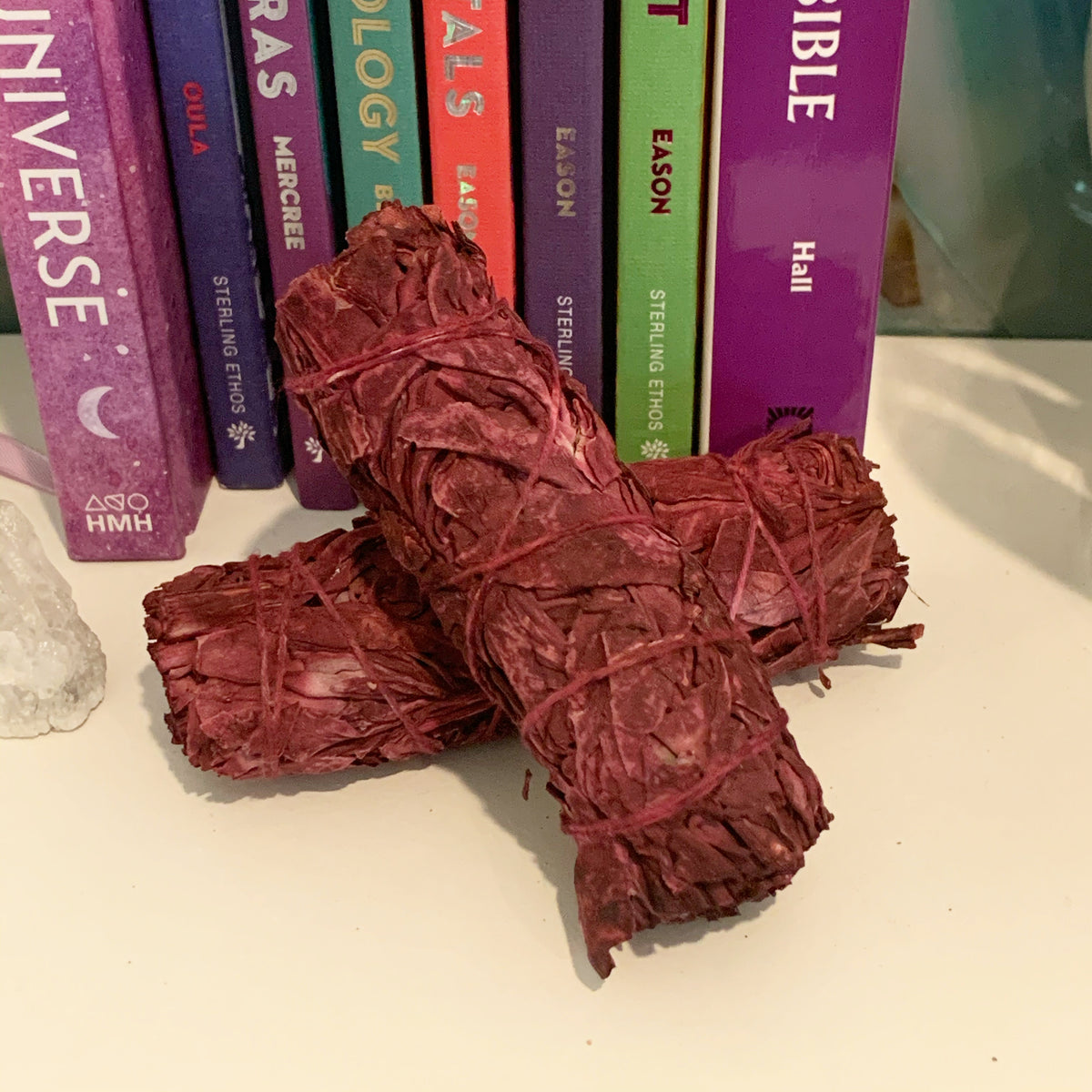 Dragon's Blood Sage Smudge Stick (Bundle)