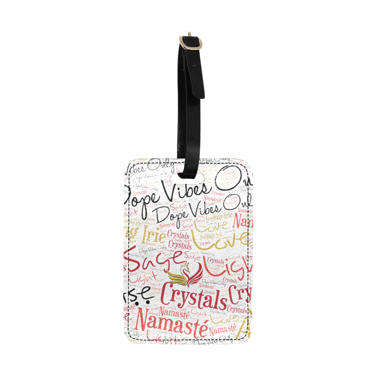 Dope Vibes Only Luggage Tags
