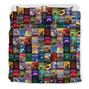 The Harry Potter Books Bedding Set V.1
