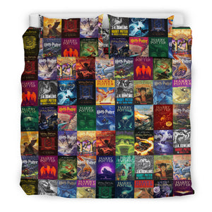 The Harry Potter Books Bedding Set V.2