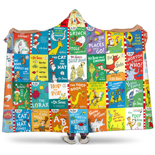 Always Dr. Seuss Hooded Blanket