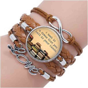 A Book is a Dream Bracelet