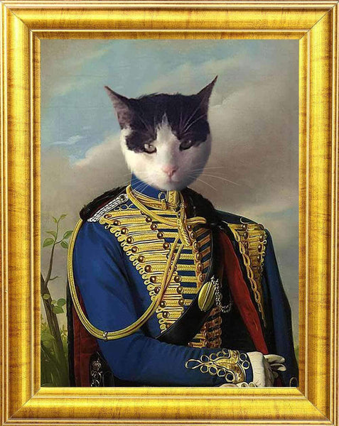 M7 Royal Cat Portrait 😻⚔️