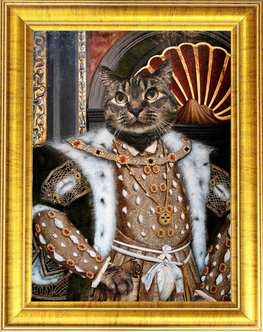 Henry VIII Cat Portrait 😻🚀