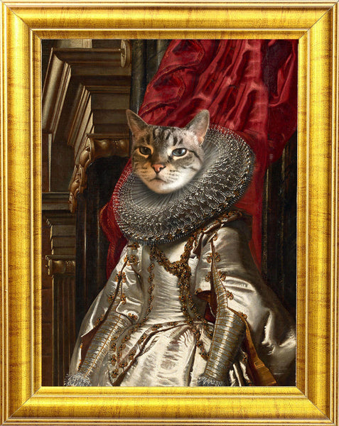 Marchesa Brigida Cat Portrait 😻👩