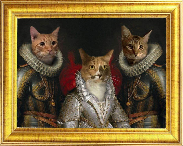 cat family portrait