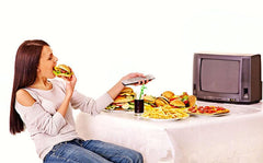 THE LINK BETWEEN TV AND JUNK FOOD