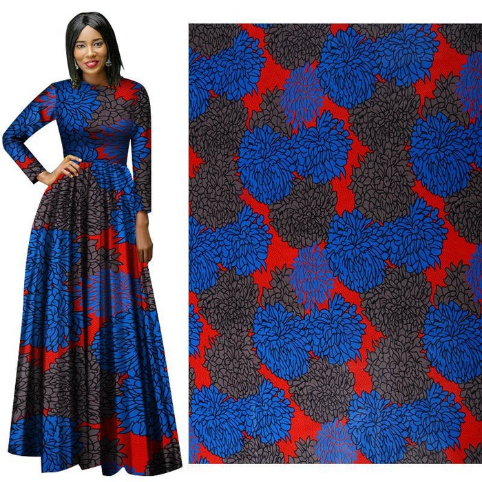 New ethnic all-cotton African prints fabric