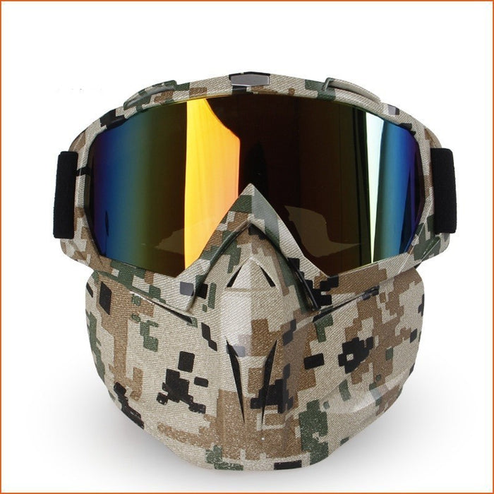 Skiing/ Snowmobile Ski Mask Goggles