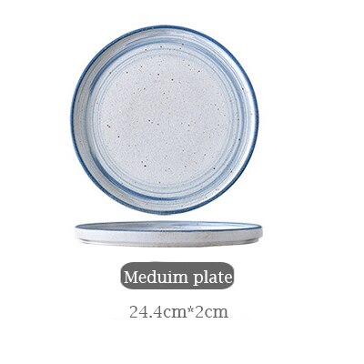 1 pc Simple Porcelain Ceramic Tableware Dinner Set