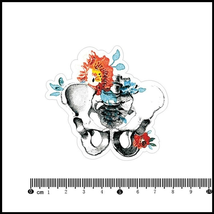 Flowers PVC Laptop/ Notebook Sticker