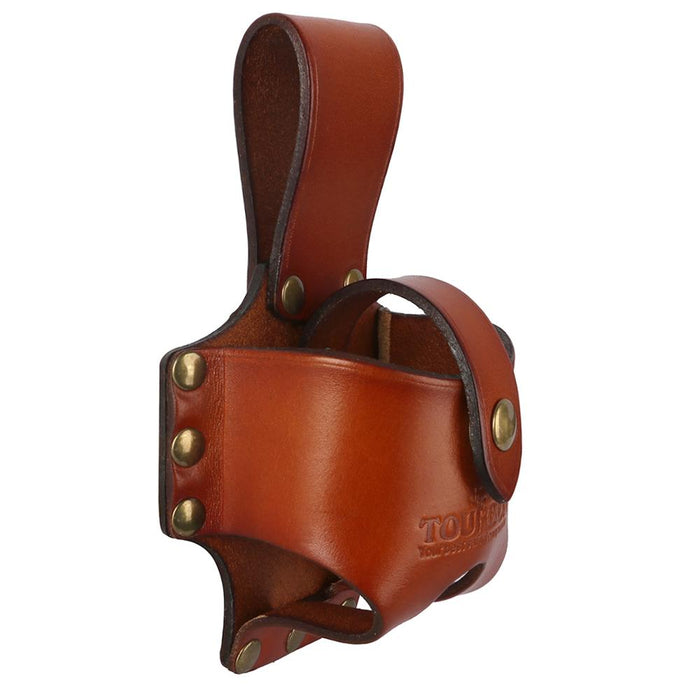 Genuine Leather Band Tape Holder Flexible Rule Cover Line Tape Measuring Reel Holders Pouch Holster Hunting Tools Bag