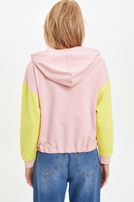 Women Casual Patchwork Hoodies