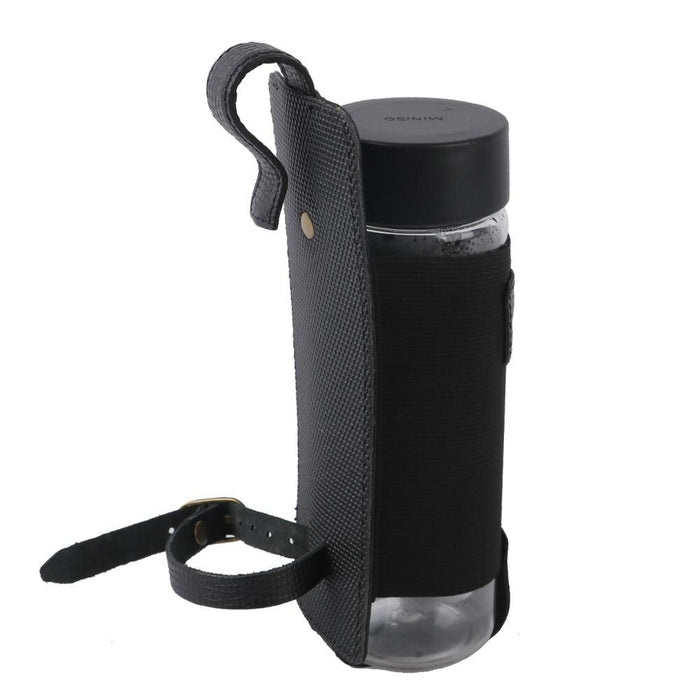 Cycling Bike Bottle Water Kettle Holder Carrier Bag Bicycle Frame Tube Cup Coffee Beer Pouch Hanging Leather Accessories