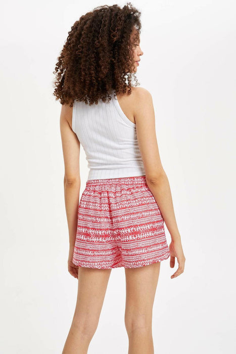 Woman Woven Swimming Shorts
