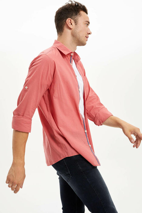 Man Long Sleeve Shirt