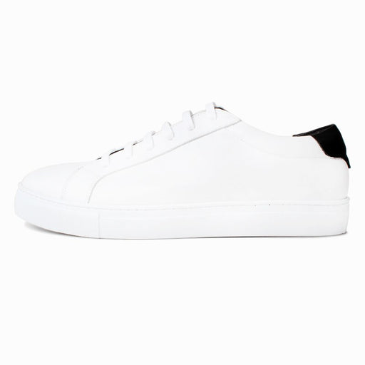 Summer Fashion Retro Handmade Shoes Men's Clothing Leather Small White Shoes Platform Tie Shoes Leisure White Z