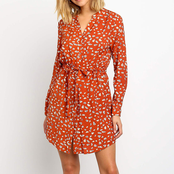 Sexy Floral Print Women Dresses
