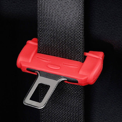 1pc Anti-Scratch Seat Belt Buckle Silicon Clip