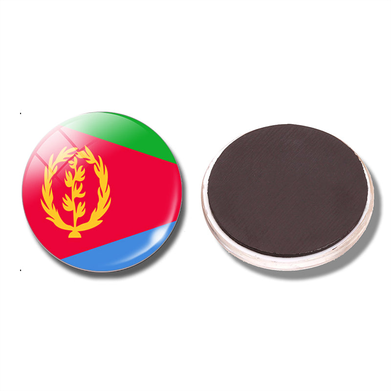 State of Eritrea Flag Fridge Magnet
