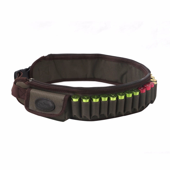Hunting Gun Accessories Tactical 12 Gauge Bandoleer Shotgun Cartridge Belt 600D Nylon Ammo Holder 24 Rounds