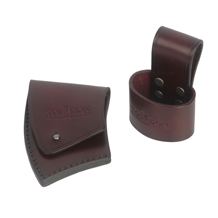 Thick Genuine Leather Axe Blade Holster