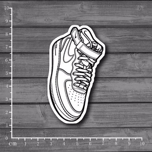Air force1 Waterproof DIY Suitcase Stickers