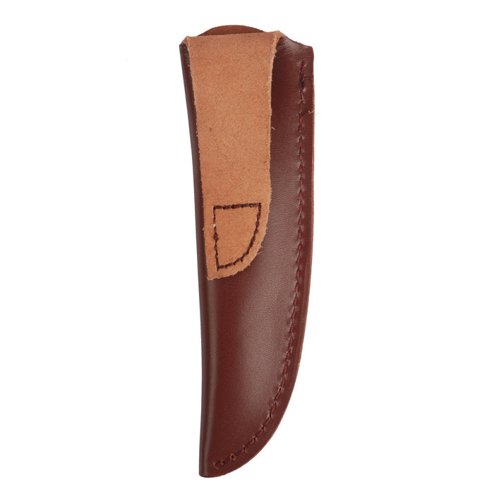 Hunting Knife Scabbard Blade Knives Sheath Brown Genuine Leather for Hunting Gun Accessories