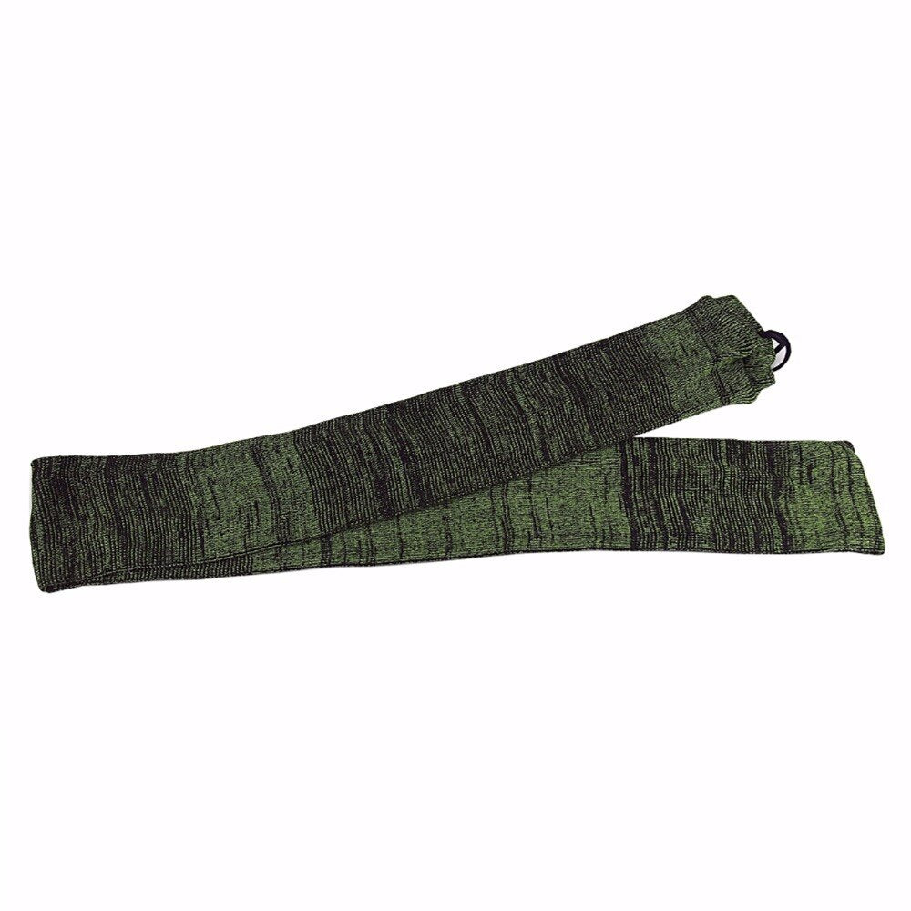Tactical Green Silicone Treated Rifle Firearm Sock Shotgun Cover Gun Protector for Hunting Shooting