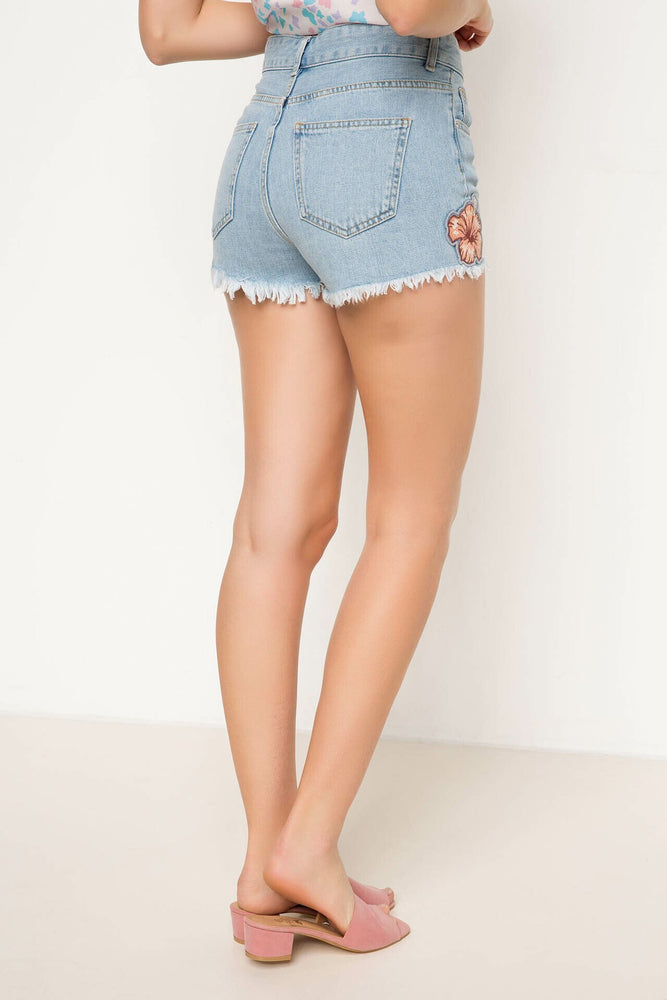 Woman Denim Shorts