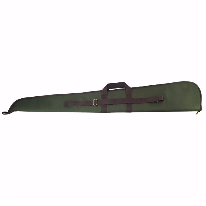 Hunting Tactical Shotgun Case Gun Bag Range Protection Slip Padded Carrier 128CM Green Nylon Gun Accessories