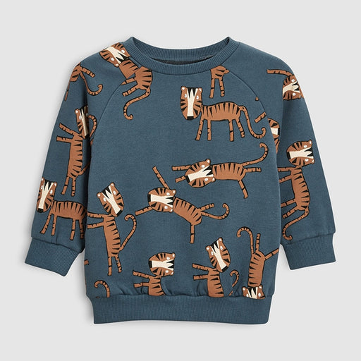 Cotton animal print kids sweatshirts