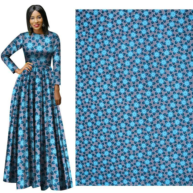 Fall & Winter Full Polyester African Prints Ethnic Garment Fabric