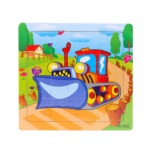 16 units/a lot Jigsaw Puzzle Wooden Board