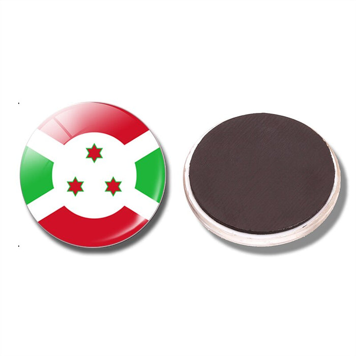 Republic of Burundi Flag Fridge Magnet