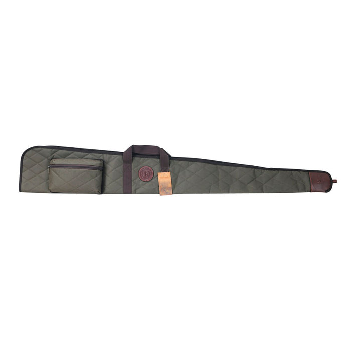Tactical Shotgun Slip Nylon Bag Soft Padded Carrying Gun Case for Hunting 138cm with Ammo Cartridges Pouches