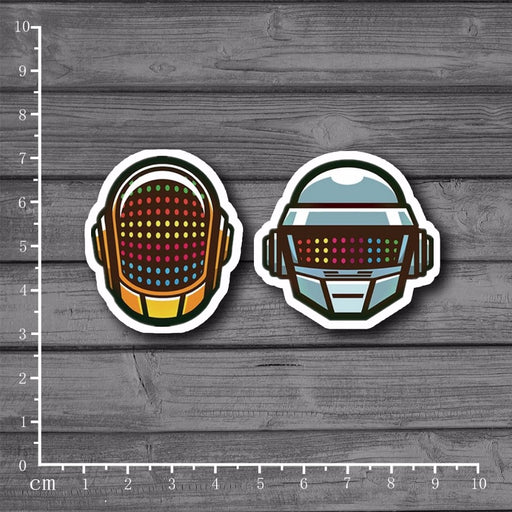 Daft Punk Scrap booking Stationery Sticker