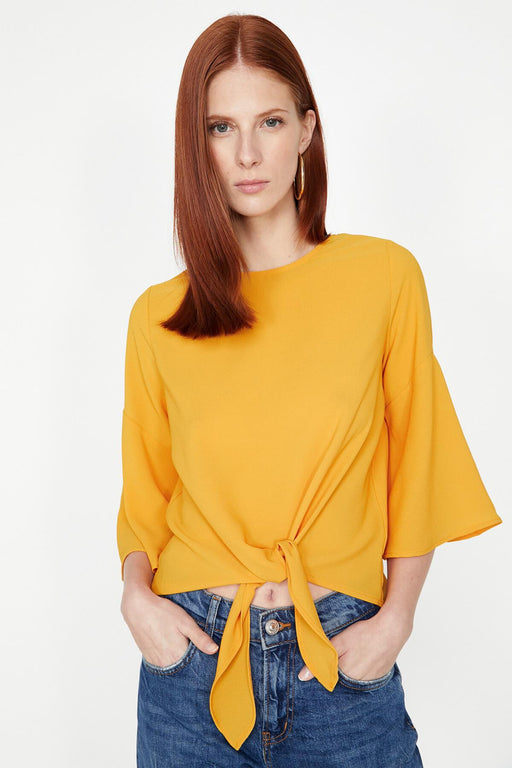 Women Yellow Blouse