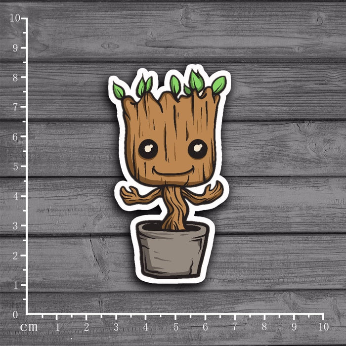 Groot Sticker Decor For Albums, Diary, Scrap booking
