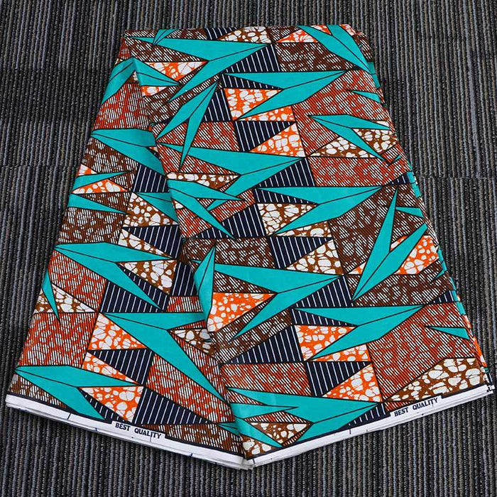 Cotton African Prints Ethnic Garment Fabric
