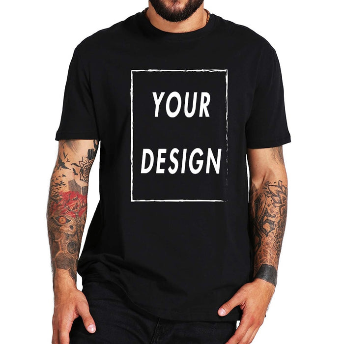 100% Cotton Custom T Shirt