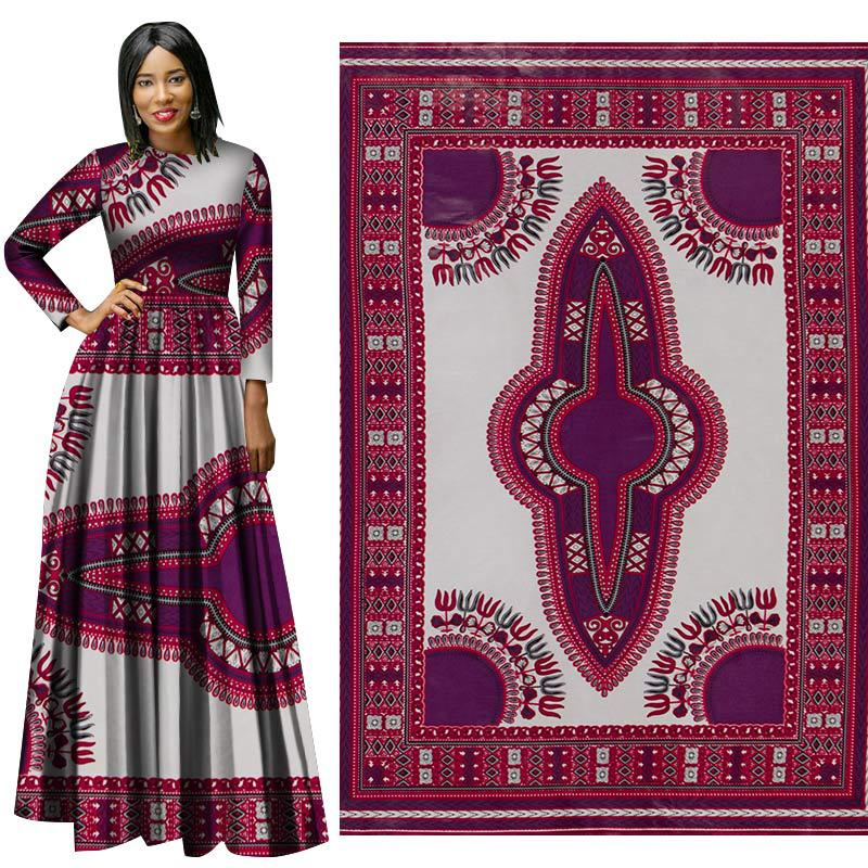 New All-Polyester African Prints Ethnic Garment Fabric