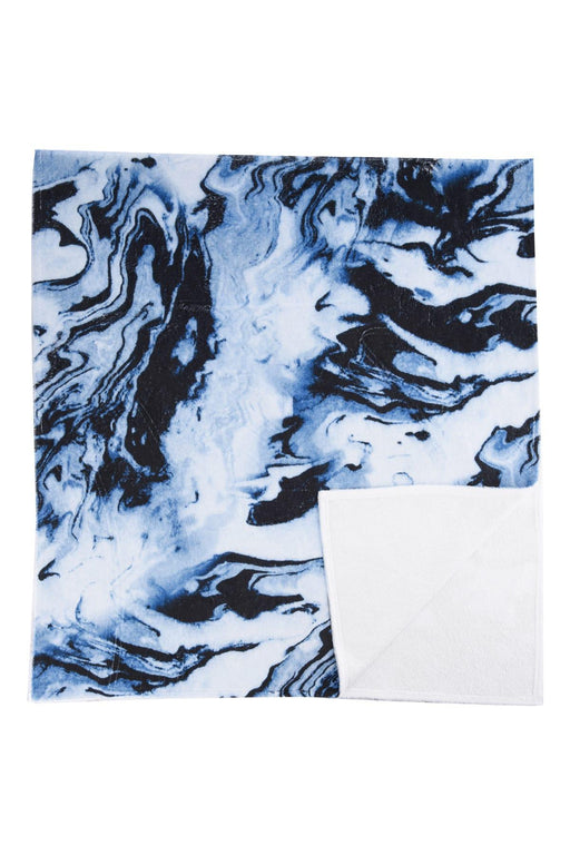 Blue Male Pattern Beach Towel