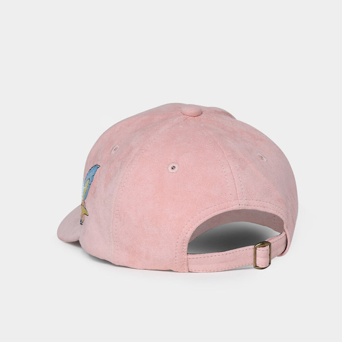 Suede Fabric Snap-back