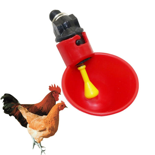 10 Pcs Automatic Poultry Water Drinking Cups